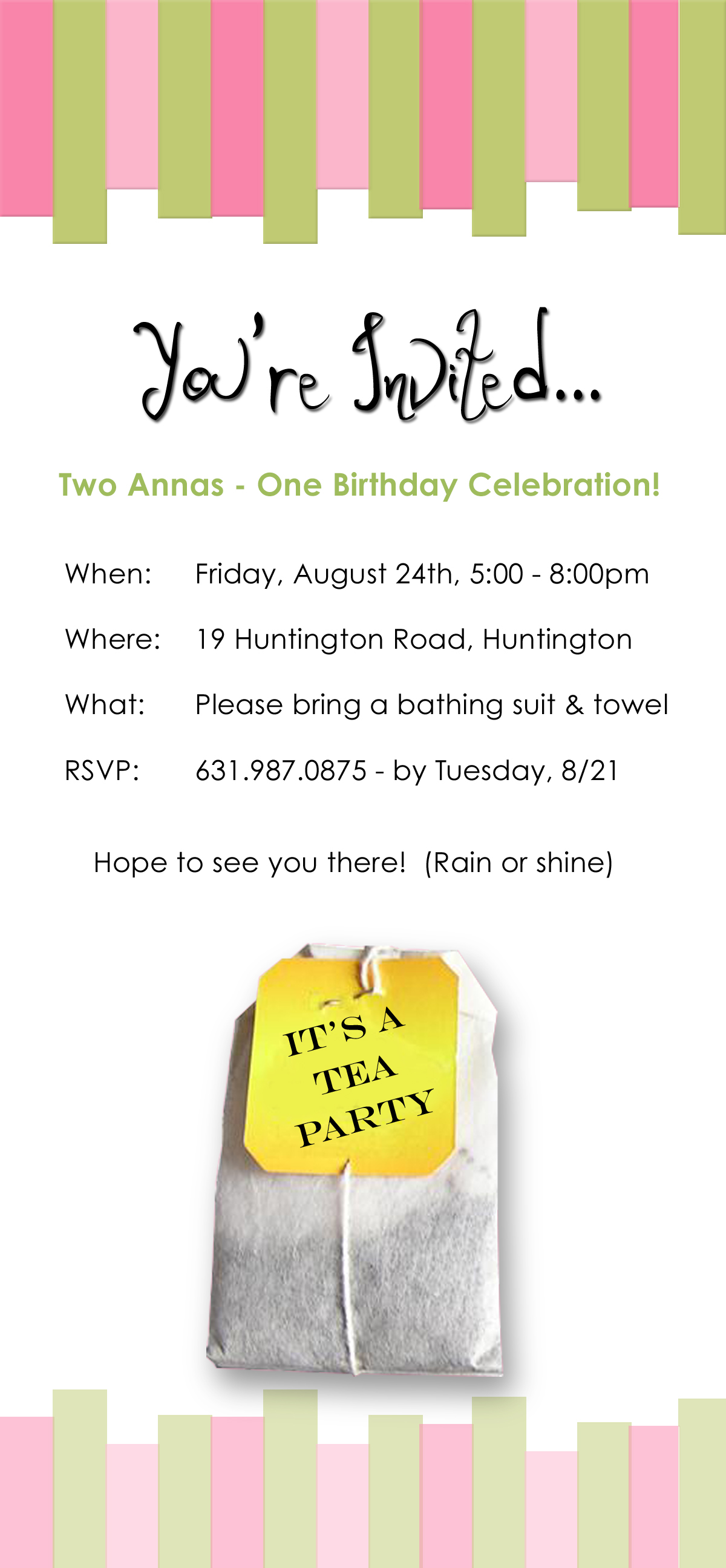 Birthday Party Invitation For Two Year Old Girls Jpg 1200x2591 14 Invitations